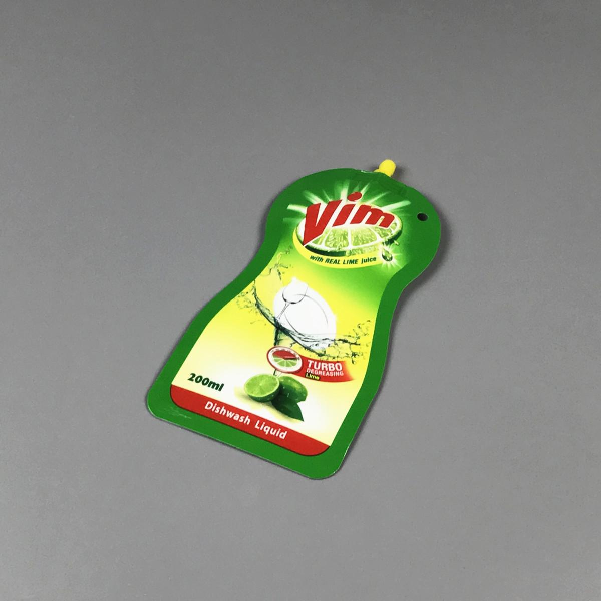 Nylon bag for washing-up liquid