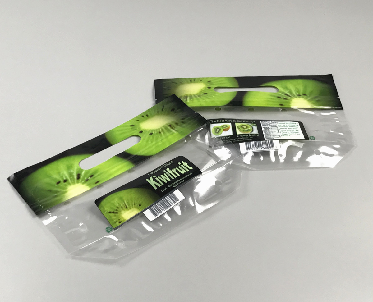 Fresh fruit and vegeratable packing pouch